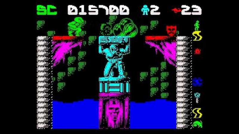 Draconus Walkthrough, ZX Spectrum