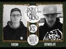DLTLLY Rap Battles DemoLux vs Krom
