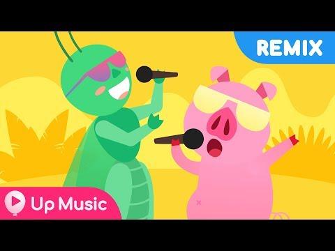Liên khúc Con Heo Đất Remix Con Cào Cào (Nhạc thiếu nhi) Official MV 4K - UP Music