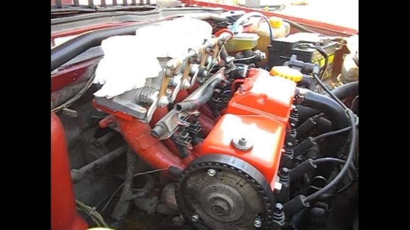 Стучит 8кл мотор на холодную