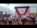 Школьный вальс 11 класса при участии юношей 9,10 классов.
