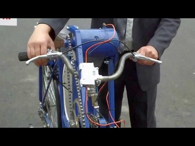 Саморобний електровелосипед