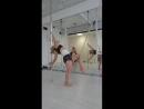 шестовая акробатика I ступень