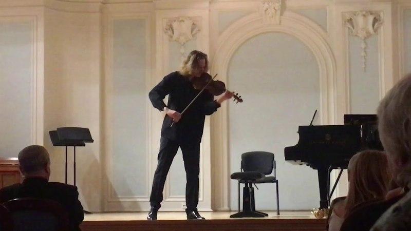 E Ysaye Sonata 3 Ballade D Borodin