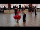 27.05.18 Матросов Сергей. Тренкина Варвара Танец Самба