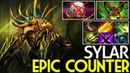 Sylar [Nyx Assassin] Epic Counter Invoker with Carry Build 7.16 Dota 2