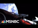 SpaceX Launches Tesla Sports Car Into Sun's Orbit All In MSNBC