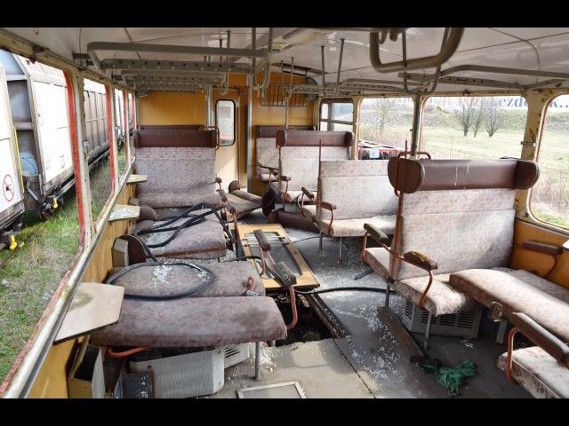 Abandoned Bzmot train (Studenka) near Szombathely - MÁV BZMOT 364