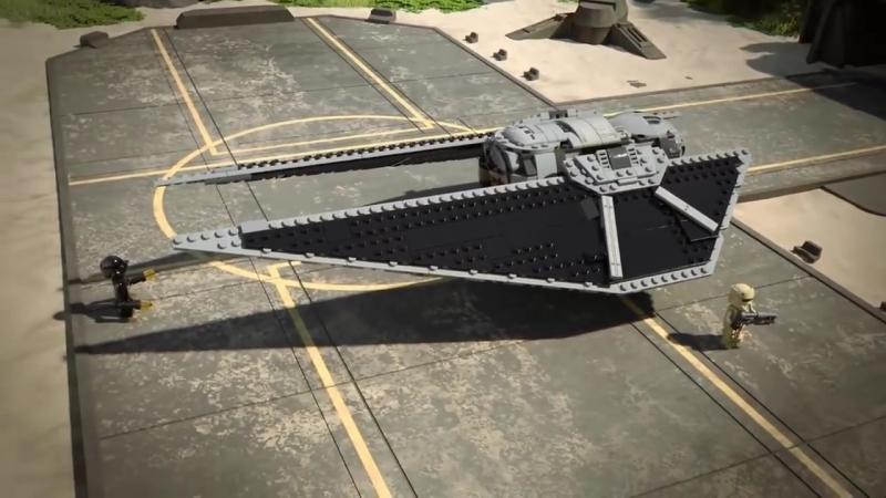 Multiki Izgoj odin Zvyozdnye Vojny Istorii smotret LEGO Star Wars Rogue One