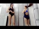 В бассейне, после тренировки