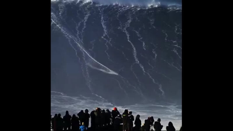 самая большая волна
