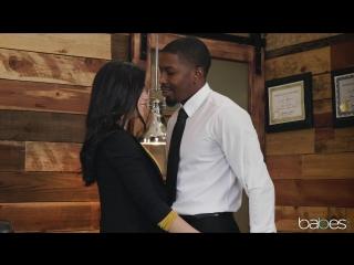 Alina Lopez (Learning on the Job) [Interracial, Office, Handjob, Doggystyle, Blowjob, 1080p]