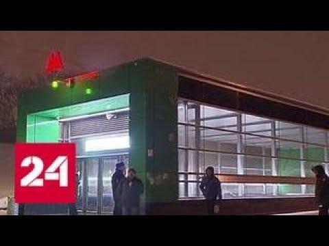 Вода на шесть часов остановила движение на участке салатовой ветки метро Россия 24