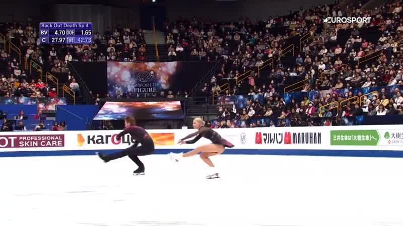 Великолепный прокат Тарасовой и Морозова, который подарил им мировой рекорд