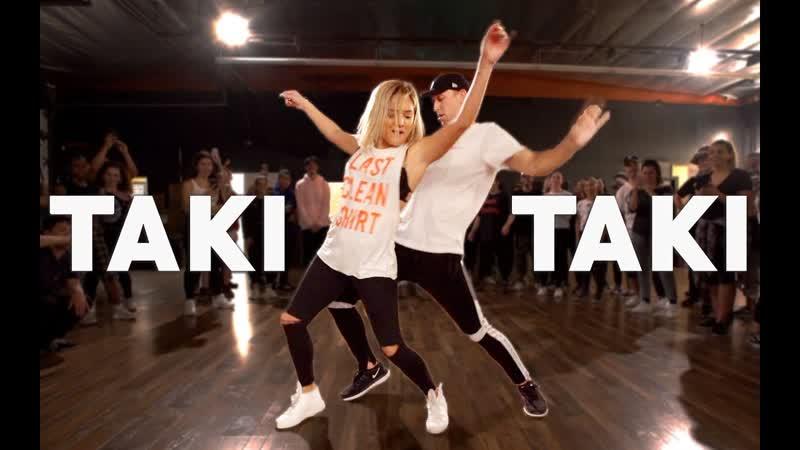 TAKI TAKI - DJ Snake, Cardi B, Ozuna Selena Gomez Dance - Matt Steffanina Chachi pt.2