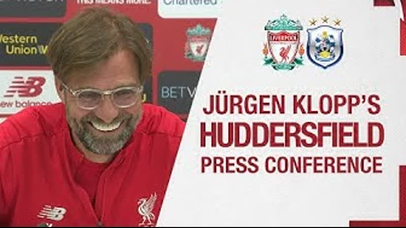 Jürgen Klopps pre-match press conference | Huddersfield Town