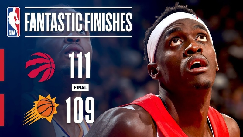 The Suns and Raptors Engage In a Fantastic Finish   January 17, 2019 NBANews NBA Raptors Suns