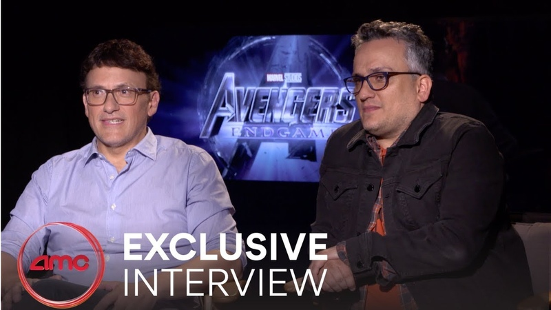 AVENGERS ENDGAME - Interview (Anthony Russo Joe Russo) | AMC Theatres (2019)