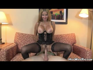 Rio Blaze - SCREW MY WIFE PLEASE  MILF, Incest, Инцест, Зрелые, порно, stockings, wife, милф, mom, mother fuck, milf, мамка