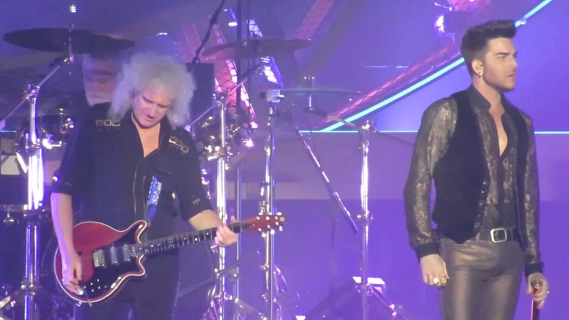 Queen and Adam Lambert Save Me Who Wants To Live Forever Wembley Arena 24-2-2015