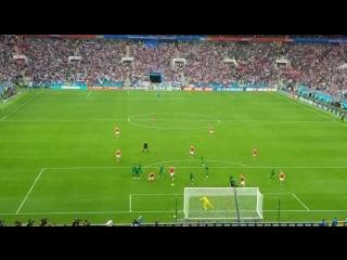 - ЧМ: Россия - Саудовская Аравия (5:0), гол Головина