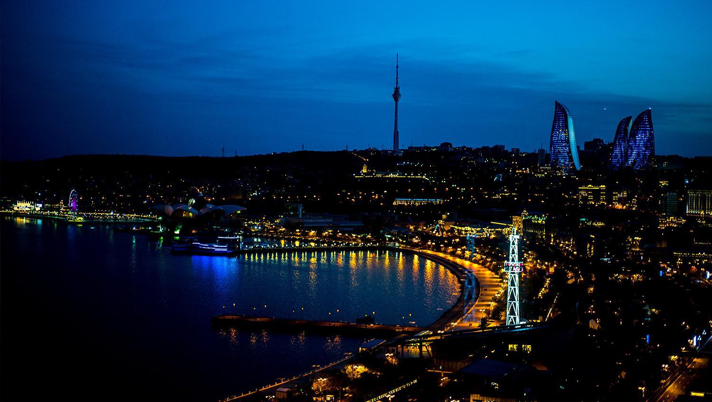 Виды Баку - арены шестого этапа Формулы-1 2021 года
