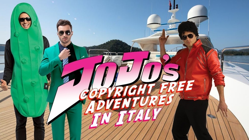 JoJo's Copyright Free Adventures In Italy - Episode 5