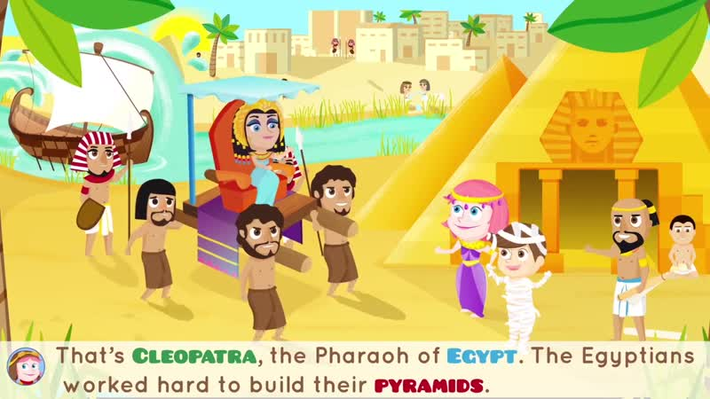 Ancient Egyptian Adventure History for Kids