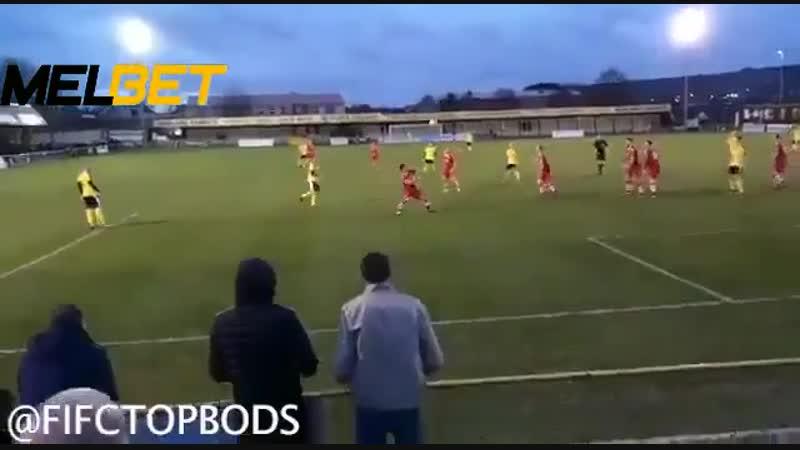 Красивый гол из седьмого дивизиона Англии