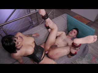 Mia Little Punishes and Pegs Papa Georgio [2019 г., Femdom, Strapon, Anal, Pegging, Facesitting, Pussy Licking, 720p]