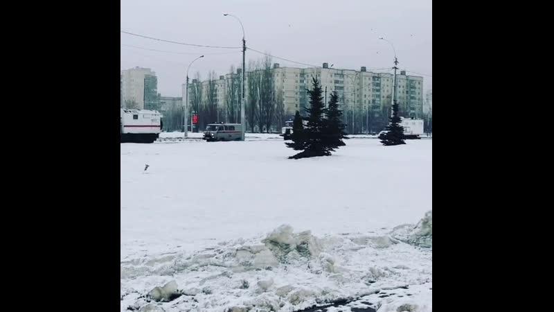 В Липецкой области оцеплен дом из-за возможного взрыва (видео) - Происшествия - Новости