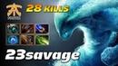 23savage Morphling 28 KILLS Monster Carry - Dota 2 Pro Gameplay