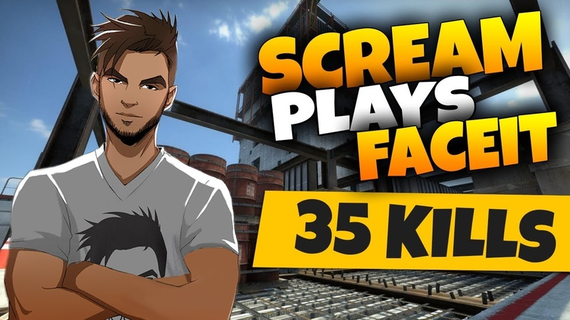 CSGO ScreaM 35 kills on Vertigo @ FACEIT 20 05 2019