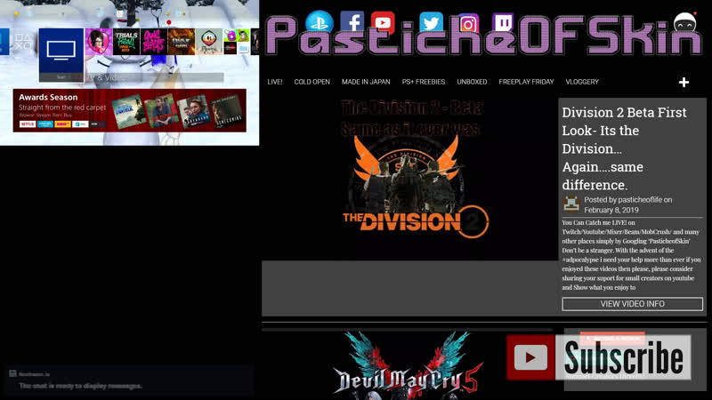 PasticheOfSkin Plays Games Live! - Like..loads of games..whatever i like... and you cant stop me!