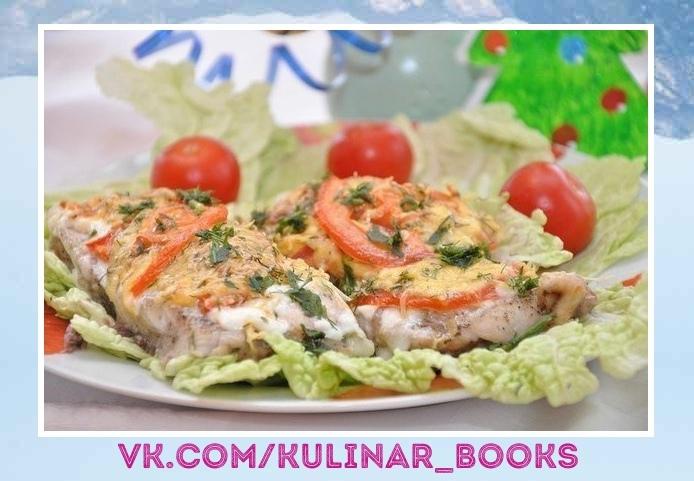 Не упустите идею потрясающего блюда! Рыбка с сыром и помидорами