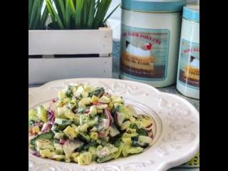 Салат-Простой салатик на каждый день