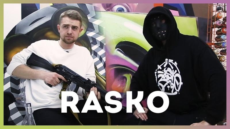 Граффити в России умерло? RASKO - большое интервью. / RASKO graffity-artist interview | STOLETOV