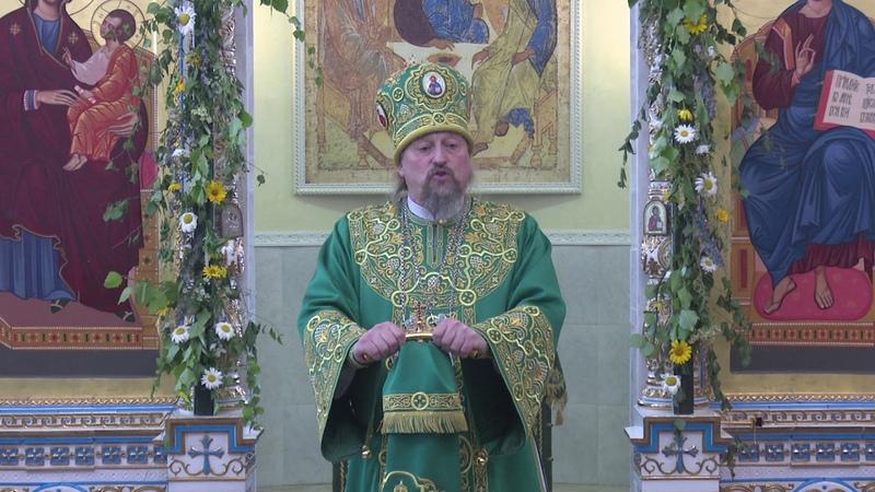 Проповедь митрополита Иоанна в день Святого Духа