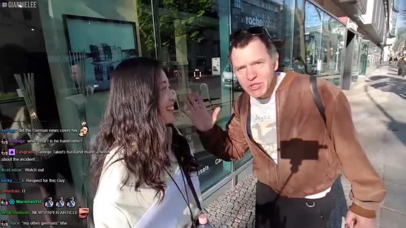 Un gentleman français tente de séduire une touriste danoise