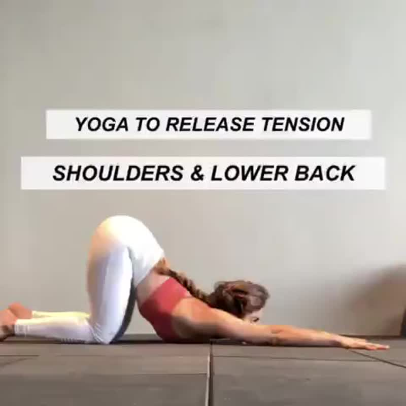 Йога-практика от боли в плечах и спине