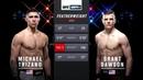 UFC Fight Night 152 Майкл Тризано VS Грант Доусон