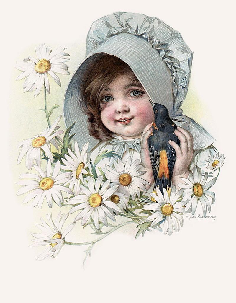 Дети на старинных картинках
