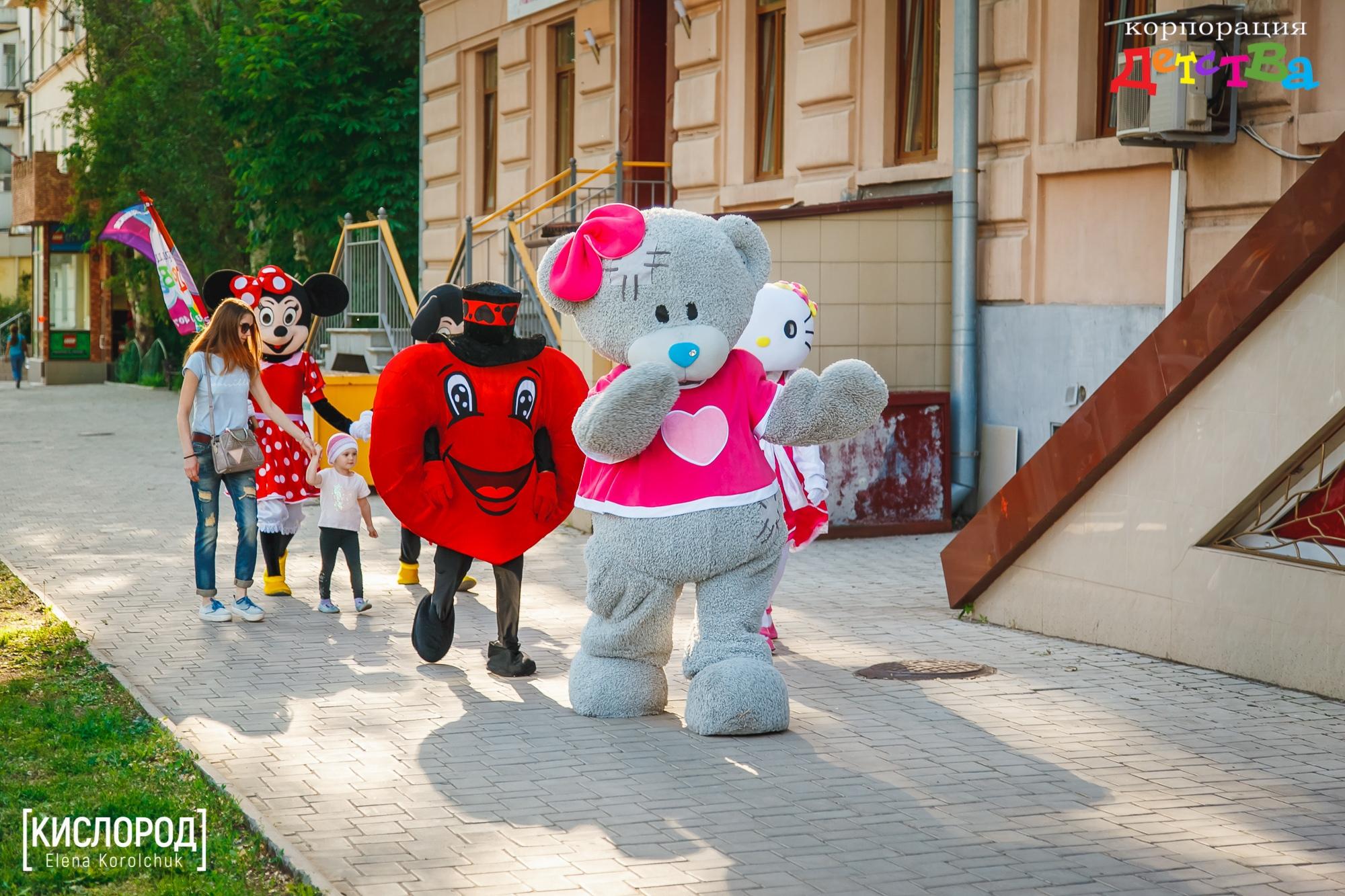 поздравления ростовыми куклами белгород городом