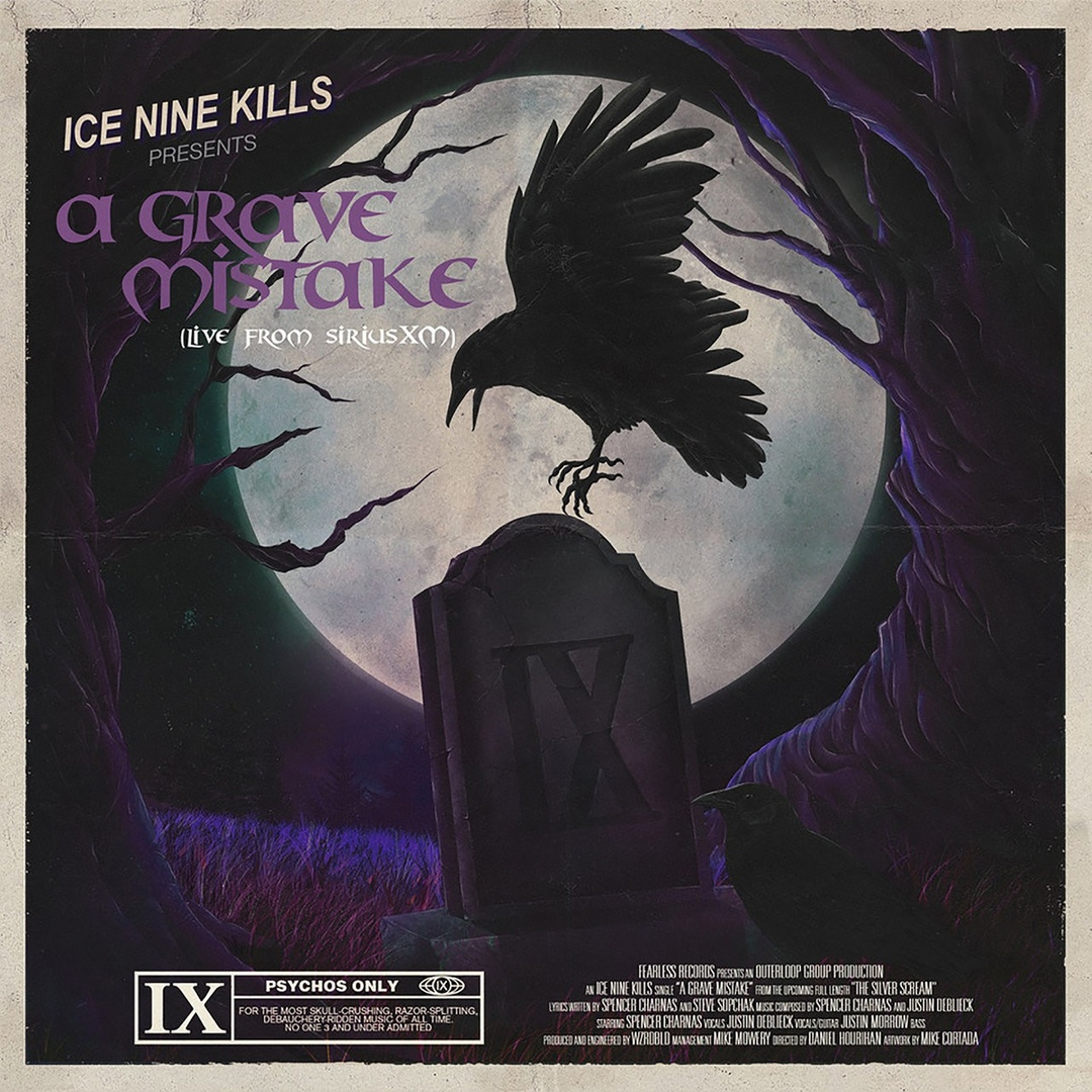Ice Nine Kills - A Grave Mistake (Live From SiriusXM) [Single] (2019)