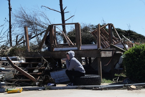 Последствия смертоносного торнадо в штате Алабама