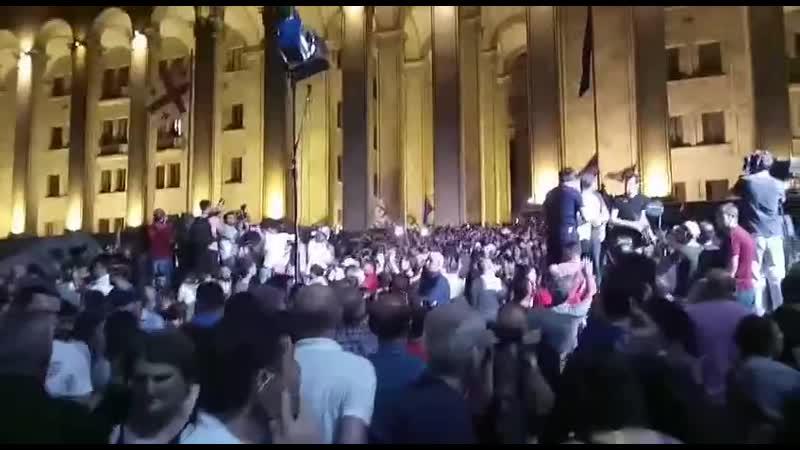 КРЧ протесты в Грузии