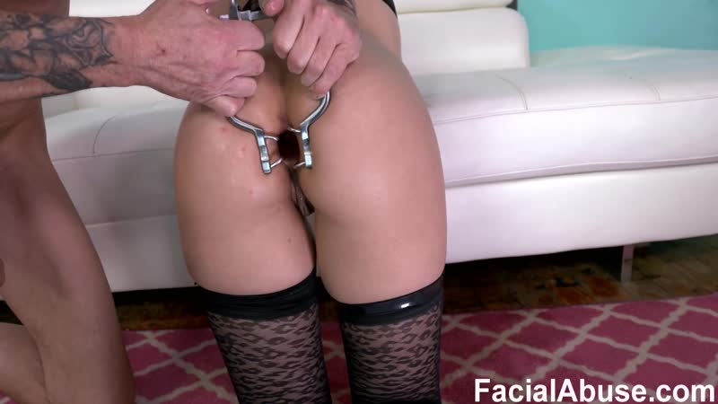 Facial Abuse, Face Fucking Amateur Slut Is Pissed On, Anally Smashed Throat