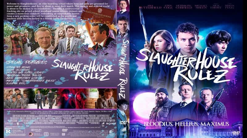 Правила бойни / Slaughterhouse Rulez (2018) BDRip 720р. Озвучка: ДиоНиК