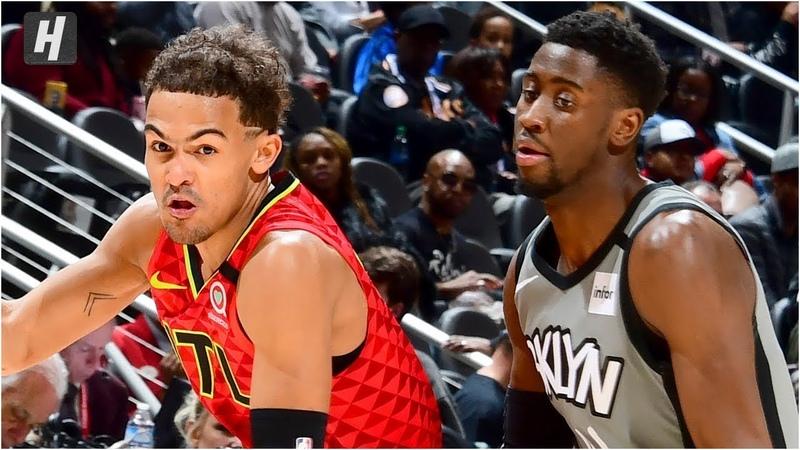 Brooklyn Nets vs Atlanta Hawks - Full Game Highlights | February 28, 2020