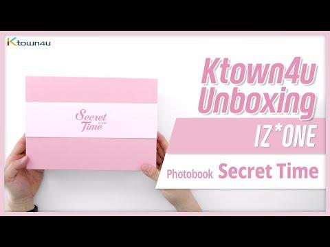 Unboxing IZ*ONE PHOTOBOOK Secret Time アイズウォン 아이즈원 포토북 언박싱 Kpop Ktown4u